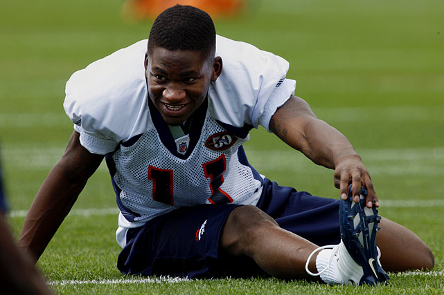 The Denver Broncos wide receiver, 23, was found dead of self-inflicted gunshot wound in September 2010. Known for being jovial, he had grown despondent after having knee surgery that was expected to sideline him for the season. He reportedly made statements about not knowing what he would do without football, expressing the thought that he should kill himself.