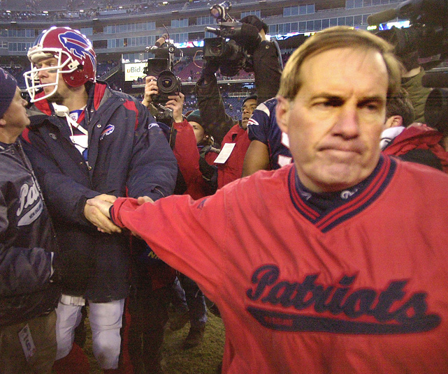 One of Belichick's most controversial and successful moves was replacing longtime starting quarterback Drew Bledsoe with then-unknown Tom Brady. Initially the move was viewed as temporary since Bledsoe suffered a collapsed long early in the 2001 season. But the team played well under Brady and when Bledsoe returned to health, Belichick announced he was keeping Brady as the starter. Bledsoe was traded to Buffalo the following season.