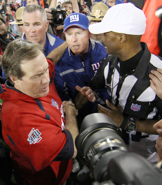 Spygate was the talk of the 2007 preseason, but once the regular season began, Belichick and the Patriots responded with the first 16-0 record. The Super Bowl, however, turned out to be a disappointment as the Patriots lost to the underdog Giants.