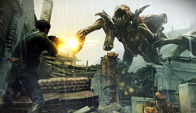 In the third installment of the Resistance series you play as Joseph Capelli, a man trying to look after his family and do his part to save civilization from alien invaders called the Chimera. A compelling story drives you from one action sequence to another with a healthy amount of enjoyable boss battles and plenty of quick-paced close-quarters combat.    The graphics in Resistance 3 are solid, though the color palette is at times muted. Environmental effects, like billowing smoke and fire make the game feel immersive. The voice acting and sound effects are thorough and engaging as well. The weapons in the game are well balanced, tight and extremely fun to use. Each weapon upgrades the more you use them, and switching between them in the heat of combat works well.  Multiplayer in Resistance 3 has been reduced to 16-person games, but the action remains fast and furious, and the available modes are robust and addictive. As one of Sony's flagship and exclusive first-part shooters, Resistance 3 is an A-list experience.  Score: 9 out of 10