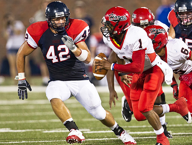 Previous rank:  3  Last game:  44-7 win at Plano (Texas)  Next game:  Sept. 30 vs. Lewisville (Texas)   All records through Sept. 25, 2011