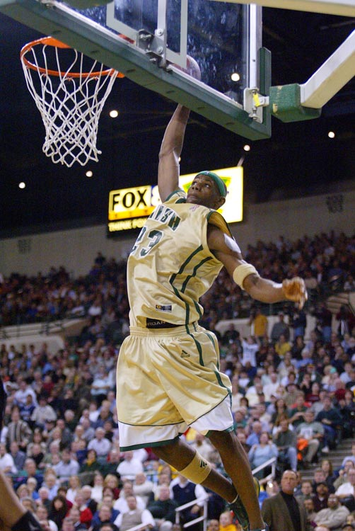 He also had some pretty spectacular dunks in the win.