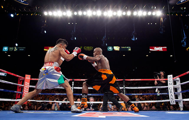Victor Ortiz landed 26 of 148 punches (18 percent) on the night -- including zero of 31 jabs.