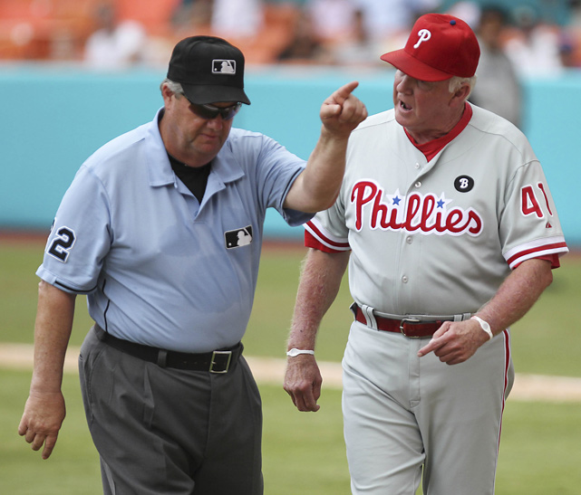 Who is the worst umpire in baseball?  1.	Joe West 2.	C.B. Bucknor 3.	Angel Hernandez 4.	Bob Davidson 5.	Derryl Cousins