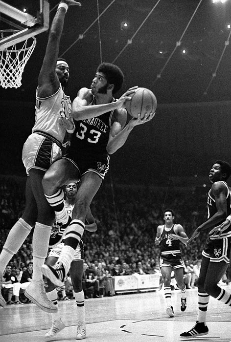 Led by MVP Kareem Abdul-Jabbar (31.7 ppg, 16 rpg) and Oscar Robertson, the Bucks ripped off a 20-game winning streak during the regular season, finished  66-16 and rolled through the playoffs with a 12-2 record. Milwaukee outscored its opponents by 12.2 points per game, the second-best differential in NBA history, and was No. 1 in both shooting percentage (50.9) and field-goal defense (42.4).