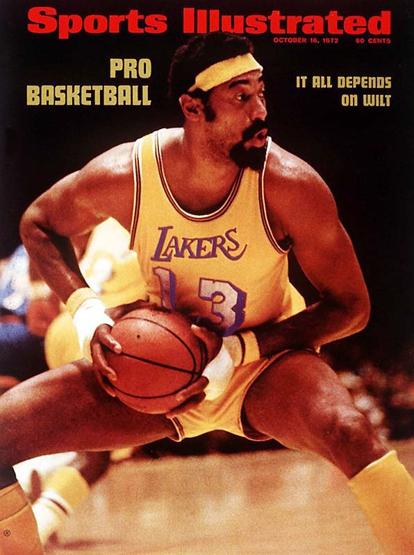 The Lakers set NBA records with 33 consecutive wins and 16 consecutive victories on the road in winning 69 games, the second highest total of all time. Wilt Chamberlain, Jerry West and Gail Goodrich were more than enough to overcome the departure of Elgin Baylor, who retired nine games into the season because of injury. The championship would be the Lakers' first in Los Angeles.