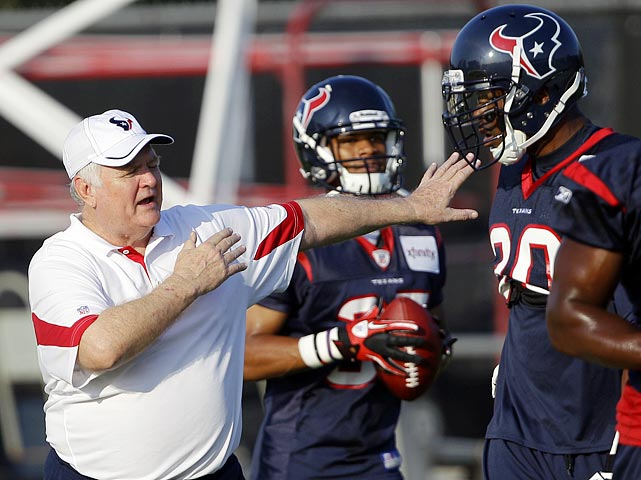 The only thing keeping the Texans from the playoffs in recent years was the defense. But new coordinator Wade Phillips brings a 3-4 scheme that should better take advantage of Mario Williams' pass rush ability, and free agent addition Johnathan Joseph solidifies a secondary that was terrible in 2010. The offense shouldn't have to carry Houston any more.