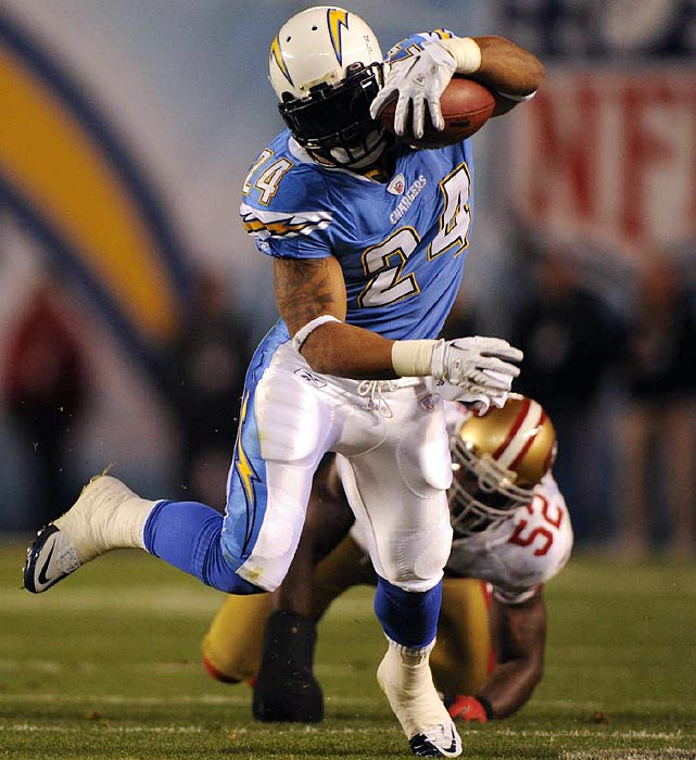 The NFL world had high expectations of Mathews as a rookie in 2010, but the Fresno State product couldn't cement his role as the Chargers' workhorse, splitting carries with Mike Tolbert. If the Chargers want to return to the playoffs in 2011, Mathews will have to prove he wasn't a wasted pick.