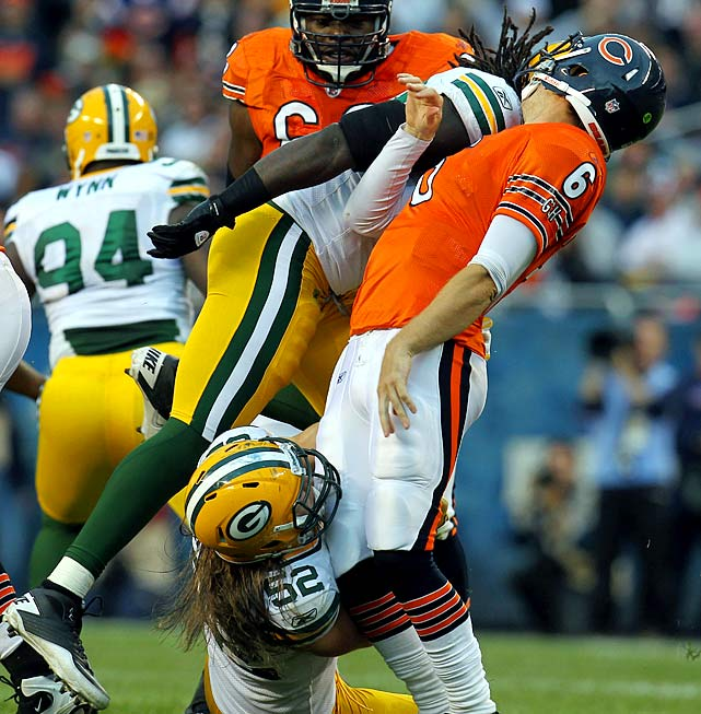The Packers' linebacker was involved in a sack of Bears' quarterback Jay Cutler, along with linebacker Clay Matthews in Week 3. Walden was fined because his hit was higher than Matthews' and near the quarterback's head.