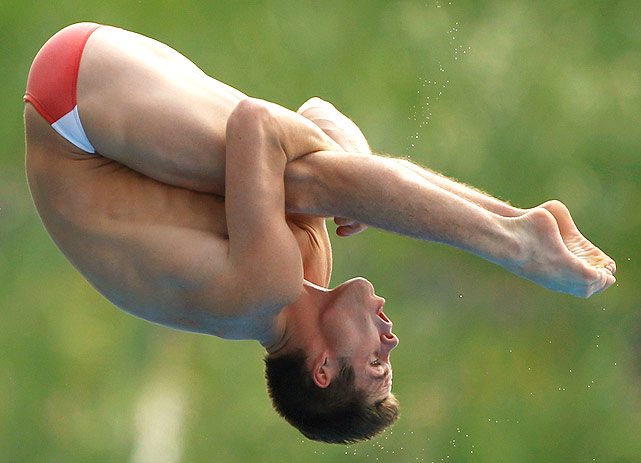 David Boudia competed in the 2008 Olympics, where he finished fifth in the 10-meter platform event. He looks to qualify for the Olympics this year in either individual or the synchronized 10-meter event.