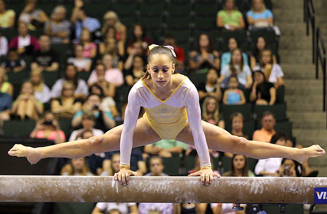 Sixteen-year-old Jordyn Wieber has her eyes on the prize, and has for a very long time. This year, she won the all-around competition at nationals and at the world championships. Jordyn is the U.S.'s best hope at winning a third straight Olympic all-around gold medal, after Carly Patterson and Nastia Liukin.