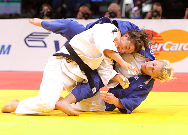 Kayla Harrison is the first United States judoka to enter an Olympic competition as the World Champion since Pedro did it in 2000. The 2011  Judo World Champion is now coached by Pedro.