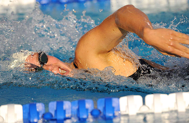 After a tough 2008 Olympics, Kate Ziegler has a renewed sense of focus and new expectations. At the World Championships, she finished third in the 800m freestyle and second in the 1500m freestyle (a non-Olympic event), setting her up nicely for the 2012 Games.