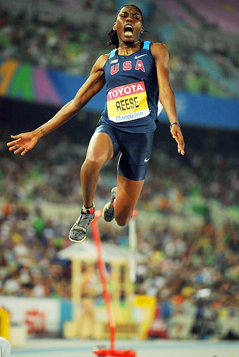 Despite a fifth-place long jump finish at the Olympics in 2008, Brittney Reese came back and grabbed gold at both the 2009 and 2011 world championships. Next summer, the reigning world champion looks to win her first Olympic medal.