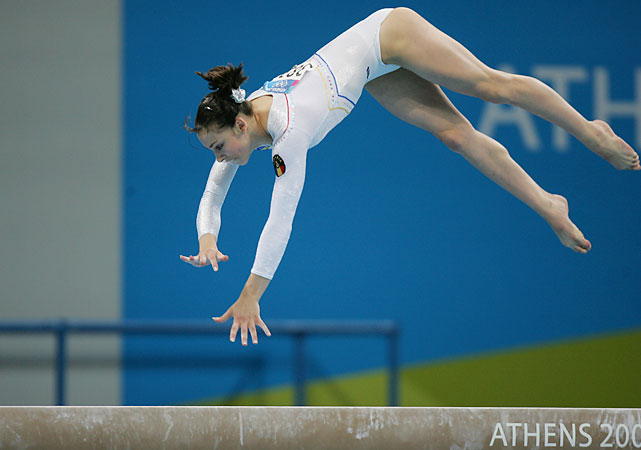 In 2004, Ponor was the only non-swimmer to win three gold medals at the Olympics. She was just 17. A rift with Romanian gymnastics and its new coaches, a brief retirement and injuries dotted her resume in the next Olympic cycle. She retired again in December 2007. Ponor finally came out of retirement in April, after Romania brought back its 2004 coach, Octavian Bellu. She won two golds and one silver at August's Romanian championships but is not yet allowed to compete internationally due to drug-testing rules for athletes coming out of retirement.