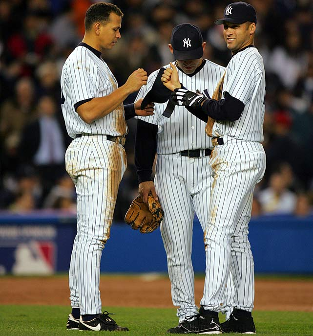 Three outs away from sweeping the Boston Red Sox and advancing to the World Series, the Yankees lost 6-4 in 12 innings and proceeded to become the first team in baseball history to blow a best-of-seven series after leading 3-0.
