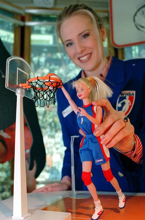 Listen, Barbie's got game.