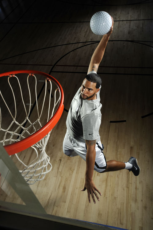 "Nets point guard Deron Williams has been obsessed with golf since teeing off for the first time in a celebrity tournament a few years ago. When he played for Team USA in the 2008 Olympics, he and Michael Redd snuck in 18 holes at a Beijing course. Williams appears in Golf Magazine's 2011 ""No. 1's"" Issue."
