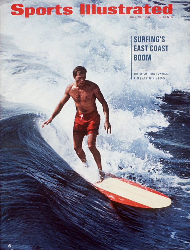 Bob Ottum reported on the Phil Edwards and the  East Coast surfing boom  in the July 18, 1966 issue.