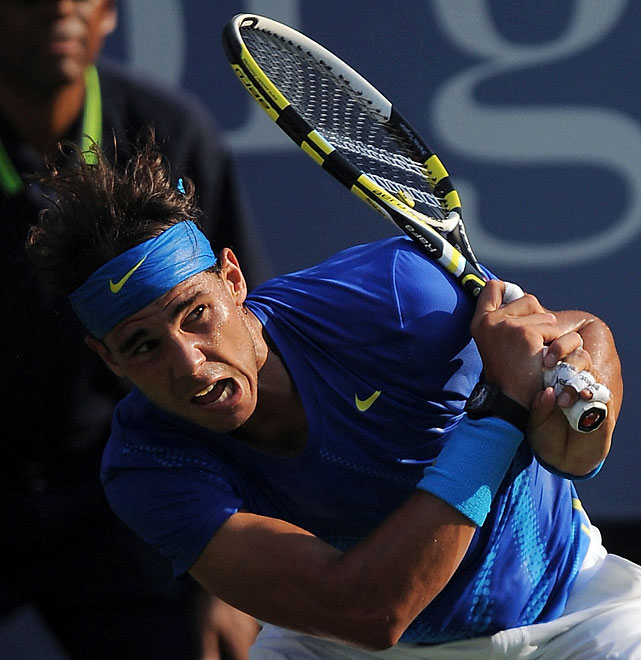 Nadal, the defending U.S. Open champion, has lost six consecutive matches to Djokovic, all in 2011 and all in finals.