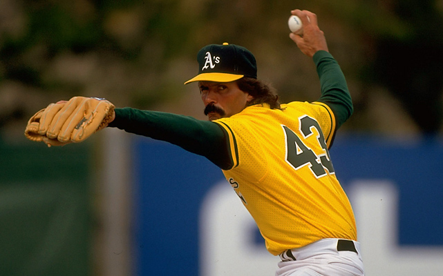 Eckersley won 20 games as a starter for the Red Sox in 1978, but a 1987 trade to the Athletics jump-started his career as a reliever. From 1988-1993, he saved no fewer than 33 games and led the league in 1988 (45) and 1992 (51). The six-time All-Star won the MVP and Cy Young awards in 1992.