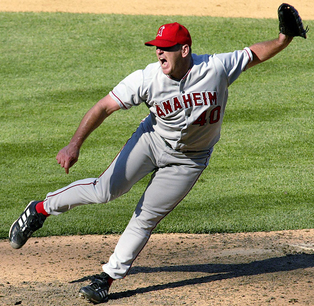 During a 15-year baseball career, he pitched from 1995-2009 for the Angels, Tigers, Cardinals and Rays, pitching primarily with the California/Anaheim Angels. He was an integral part of the Angels' 2002 World Series championship team and recorded 10 seasons of at least 27 saves.