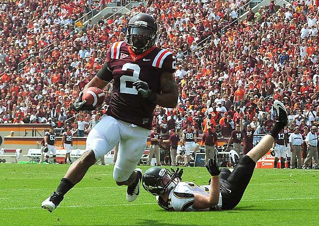 Virginia Tech's upset loss to FCS foe James Madison in 2010 seemed like a lifetime ago during this contest; so too did Appalachian State's historic upset over Michigan in 2007. The Hokies notched 518 net yards of offense behind new starting quarterback Logan Thomas (149 yards, 2 TDs) and new starting running back David Wilson (162, 3) and delivered the school's first season-opening win in four years.