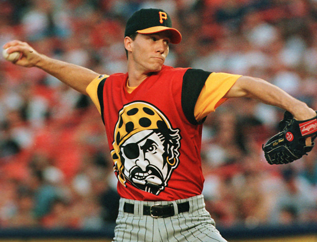 "The Pirates advertised these duds as a ""uniform of the future"" when they wore these during a 1999 game against the Mets."