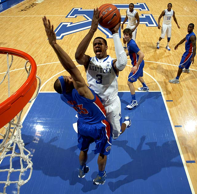 It wouldn't be a stretch to see a more mature version of Jones contend for the Wooden/Naismith Awards -- unless, that is, he's outshined by Davis, a 6-10 freshman who could very well be the first pick in the 2012 NBA draft. The tenacious Kidd-Gilchirst is expected to be one of UK's best wing defenders from Day 1.