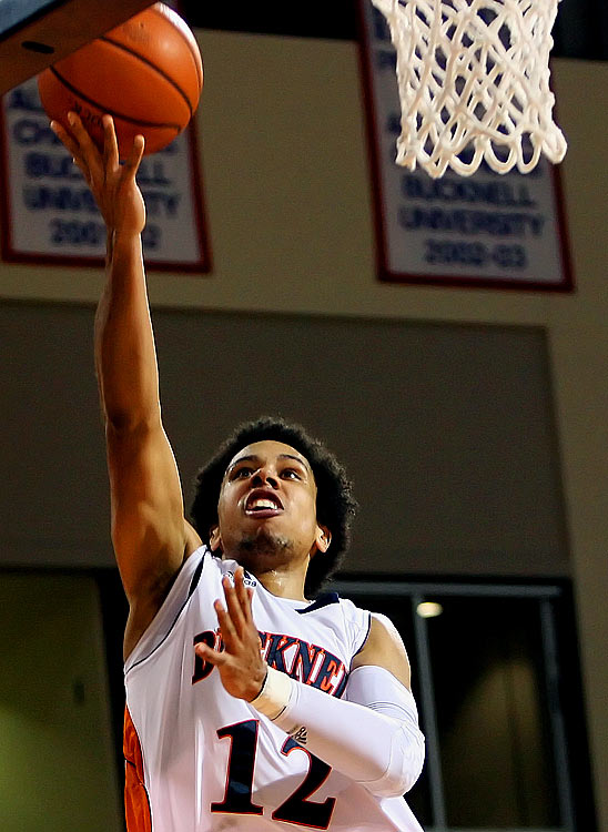 Johnson is the lone Division I player from the Canadian province of Nova Scotia -- where he was coached by his mother in high school -- and has emerged as the best gunner in the Patriot League, hitting 45.6 percent of his threes as a sophomore.