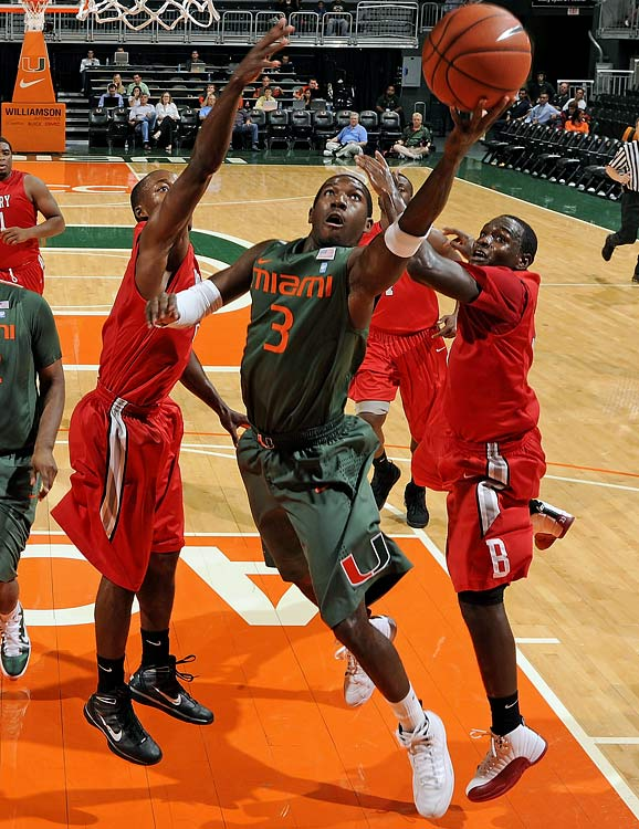 Grant was the focal point of every Miami opponent's game plan, yet managed to make 94 of 222 three-point attempts (42.3 percent) as a junior, as well as make teams pay for fouling him, shooting 85.3 percent from the stripe.