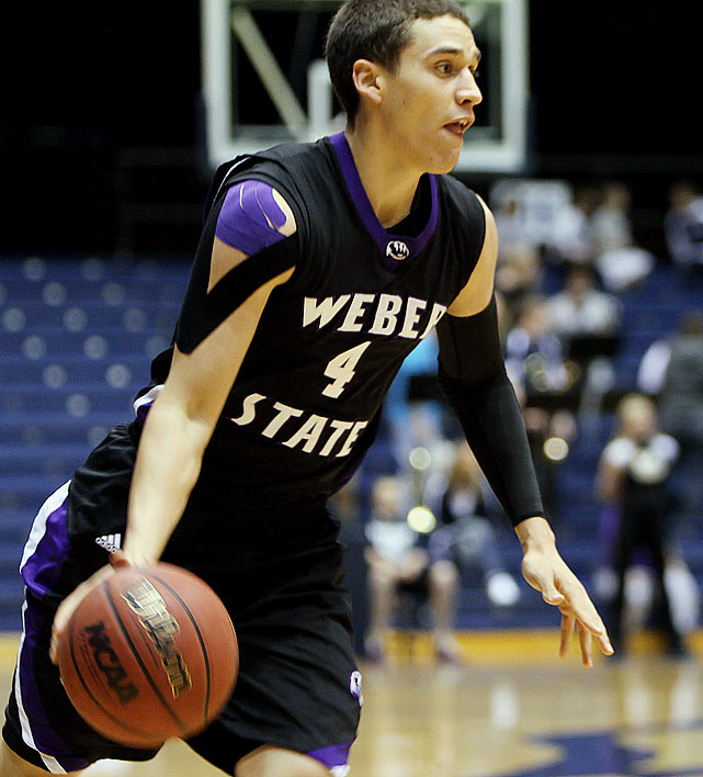 Bamforth came out of nowhere to finish fourth nationally in three-point percentage (48.7, 78-of-160). He played his freshman season at Western Nebraska Community College, broke his arm and missed his whole sophomore year, after which he transferred to Weber State ... and became the Big Sky Conference Newcomer of the Year.