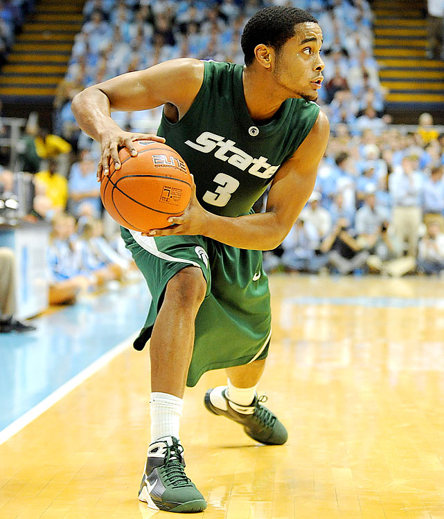 The Cyclones could start as many as four transfers, but Allen is the most recognizable name. The fifth-year senior started and averaged 8.2 points per game as a three-point terror for Michigan State in 2009-10, playing on two Final Four teams in his East Lansing tenure. He was kicked off the Spartans before the 2010-11 season, reasons unspecified. Allen will be a prominent part of Fred Hoiberg's plan to improve upon last year's Big 12-worst 3-13 conference record.
