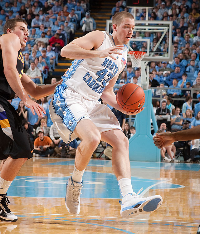 Travis was a bit more productive than his brother at UNC, posting 3.5 points per game. He slots in at power forward or center for Ben Howland. UCLA's frontcourt is extremely deep, so the Wear twins will be battling for minutes.