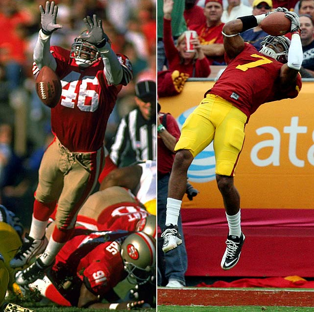 After starring as a safety at USC, Tim McDonald spent 13 seasons in the NFL, helping the San Francisco 49ers win Super Bowl XXIX. His son T.J. is in his third season at USC, where as a safety he led the team in tackles last year with 89.