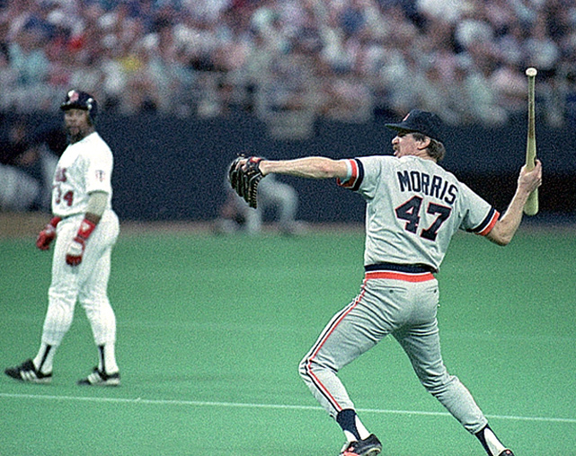 Jack Morris thought about throwing Gary Gaetti's back bat at him after it hit him during a 1988 game in Minneapolis. After leading the AL East for most of the season, the Tigers frustratingly finished one game behind Boston with an 88-74 record.