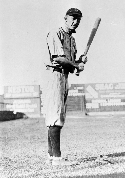 "Cobb was a Tigers' outfielder from 1905 to 1926. During his 24-year MLB career he set records for runs scored and RBIS and has a lifetime .366 batting average (he hit over .400 three times). ""The Georgia Peach"" was elected to the Baseball Hall of Fame in 1936."
