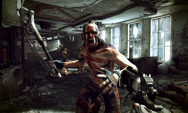 The story in Rage is your standard post-apocalyptic fare, but the real star of the game is a solid first-person shooter, impressive graphics and addictive gameplay. The world of Rage is a vast wasteland littered with human and mutant settlements, which you traverse by vehicle.  As you drive from point A to point B there's plenty of vehicular combat to keep you on your toes. When you're on foot in various locations you'll appreciate the balanced combat and the detailed and interesting level design. Rage features an intelligent upgrade system and way of feeding you increasingly cool weapons to protect yourself and accomplish missions. There are some very cool gadgets like gun sentries and robots that spice up the combat as well. The campaign is meaty, and plenty of side missions will keep you busy for a long time. Rage features standalone co-op missions and multiplayer car combat to add further value.  Score: 9 out of 10