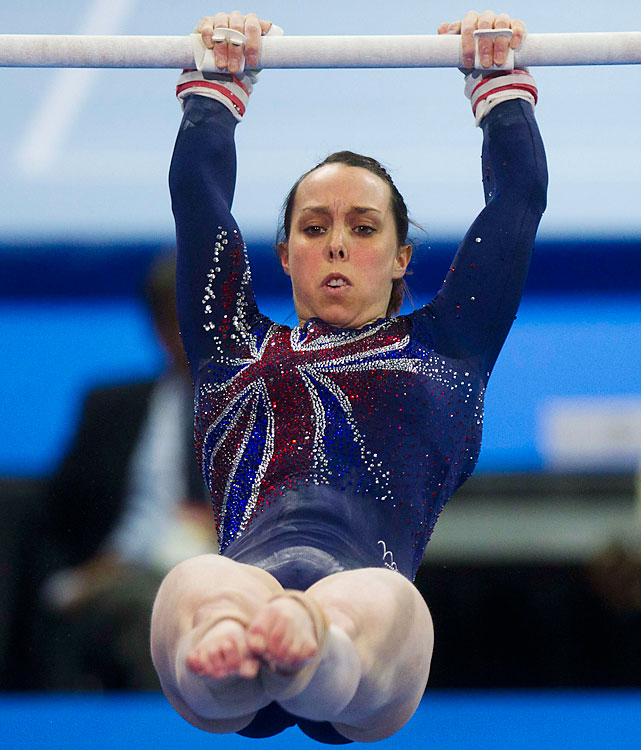 Great Britain hasn't won a women's gymnastics medal at the Olympics since 1928. Beth Tweddle may be their best hope to break that drought come London. Tweddle, 26, is a five-time world championship medalist and the defending champion on uneven bars.