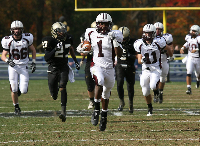 Previous rank:  1  Last game:  63-15 win at Passaic County Tech (N.J.)  Next game:  Oct. 28 vs. Paramus Catholic (N.J.)   All records through Oct. 23, 2011