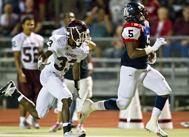 Previous rank:  3  Last game:  42-38 win at Plano East (Texas)  Next game:  Oct. 14 vs. Plano West (Texas)   All records through Oct. 9, 2011