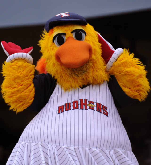 Madonna is so big in Toledo, Ohio, that the Mudhens named their mascot after the pop superstar.
