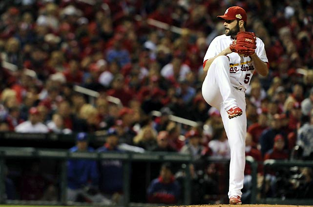 Cardinals starter Jamie Garcia turned in a sharp performance Thursday, pitching seven scoreless innings and allowing just three hits. Garcia also struck out seven and allowed just one walk.