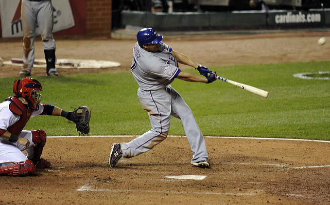 Nelson Cruz followed Beltre with a blast of his own as the Rangers grabbed a 6-4 advantage.