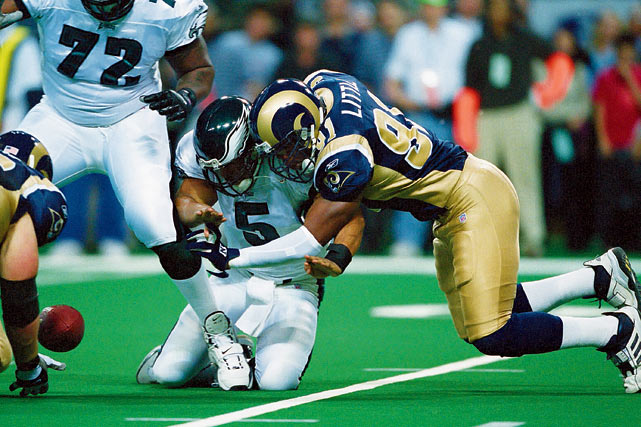 "Little was no football schmuck. He was a career Ram who was part of two Super Bowl teams, terrified opposing QBs and left the game with a franchise-best 87.5 sacks. But even Little would acknowledge that if sacks were kept in the days of the Rams' Fearsome Foursome, his numbers would not come close to stacking up with Deacon Jones, who actually coined the term: ""You know, like you sack a city."""