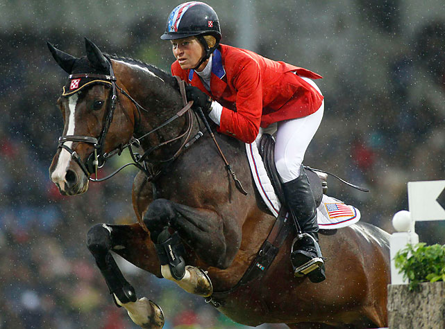 Two-time Olympic champion in team jumping.