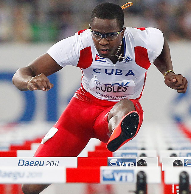 2008 Olympic champion, world record holder in 110-meter hurdles.