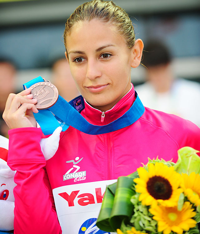 Three-time medalist at world diving championships. Bronze medalist at 2008 Olympics.