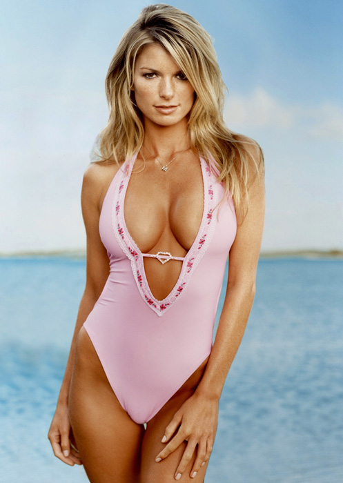 October is Breast Cancer Awareness Month. To mark the occasion, here are some of SI's most popular swimsuit models (past and present) wearing pink.