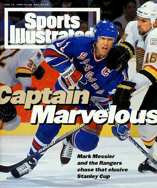 Messier is the only player to captain two franchises (Oilers and Rangers) to Stanley Cup victories; his jersey is retired in both cities. He ranks second on the all-time regular season scoring list (1,887 points).